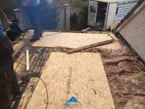 Flat Roofing Preparation in Dublin