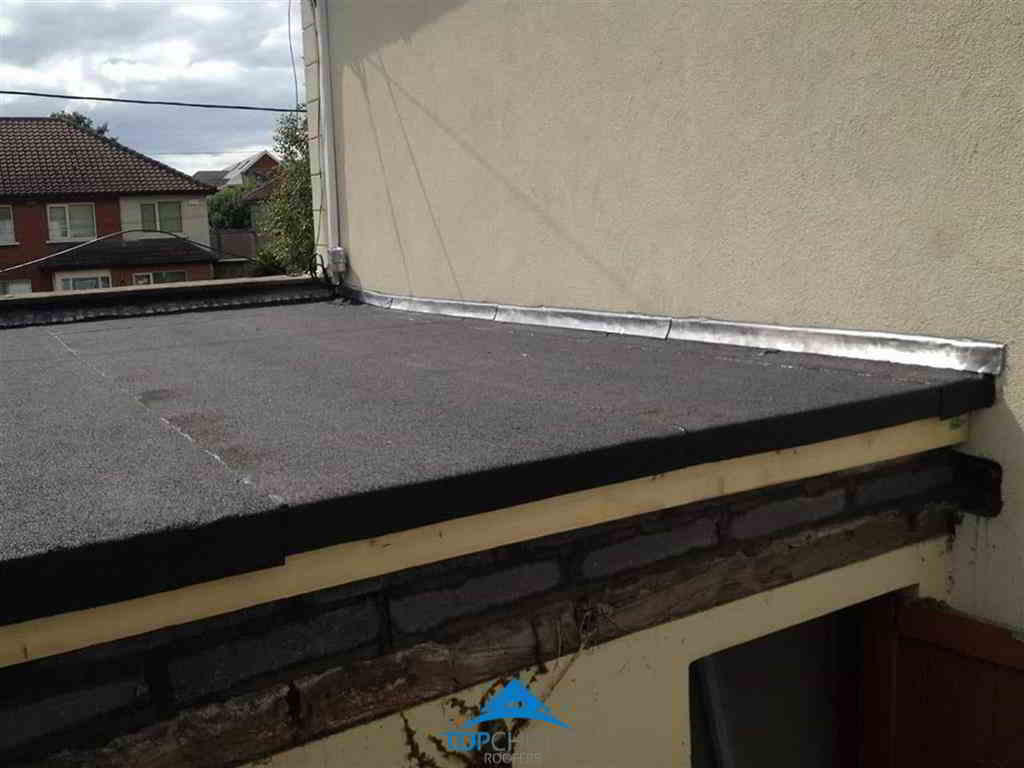 Finished Flat Roofing Installation