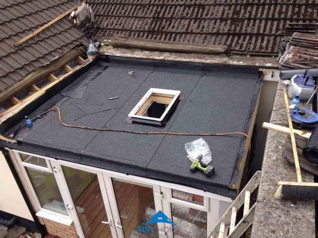 Finish Flat Roofing Installation in Dublin