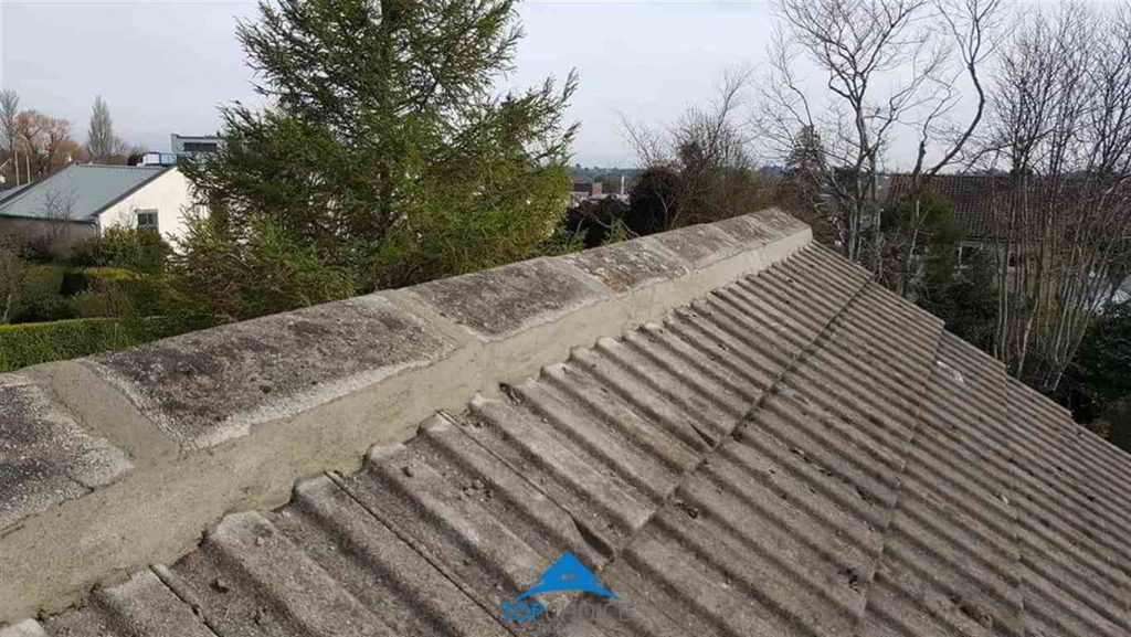 Repairing a roofing ridge in Dublin