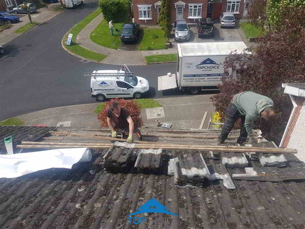 Roofing service in Dublin