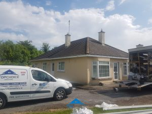 Our Skilled Contractors Assessing A Roof in Dublin