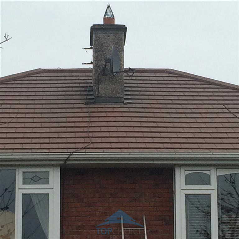 Power washing roofs in Dublin