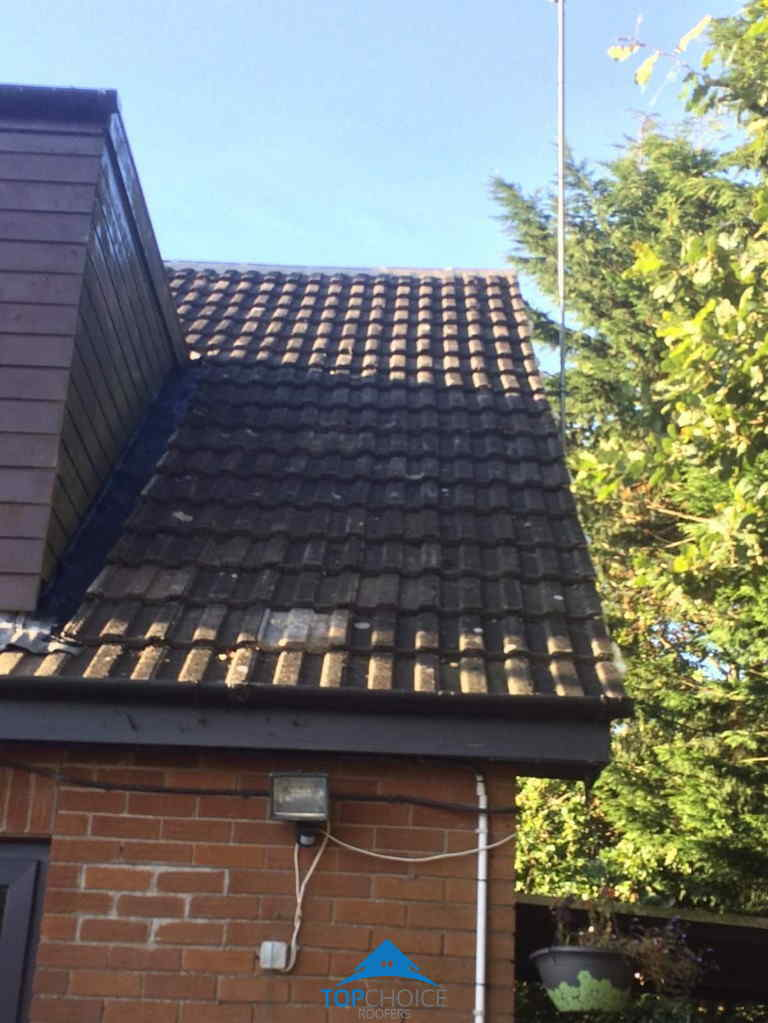 Finished Repairing Roof in Dublin