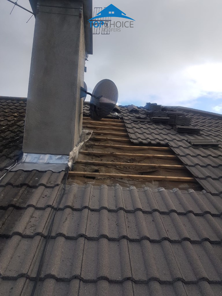 New Felt Underlay And Ridge Repair Clonskeagh Dublin