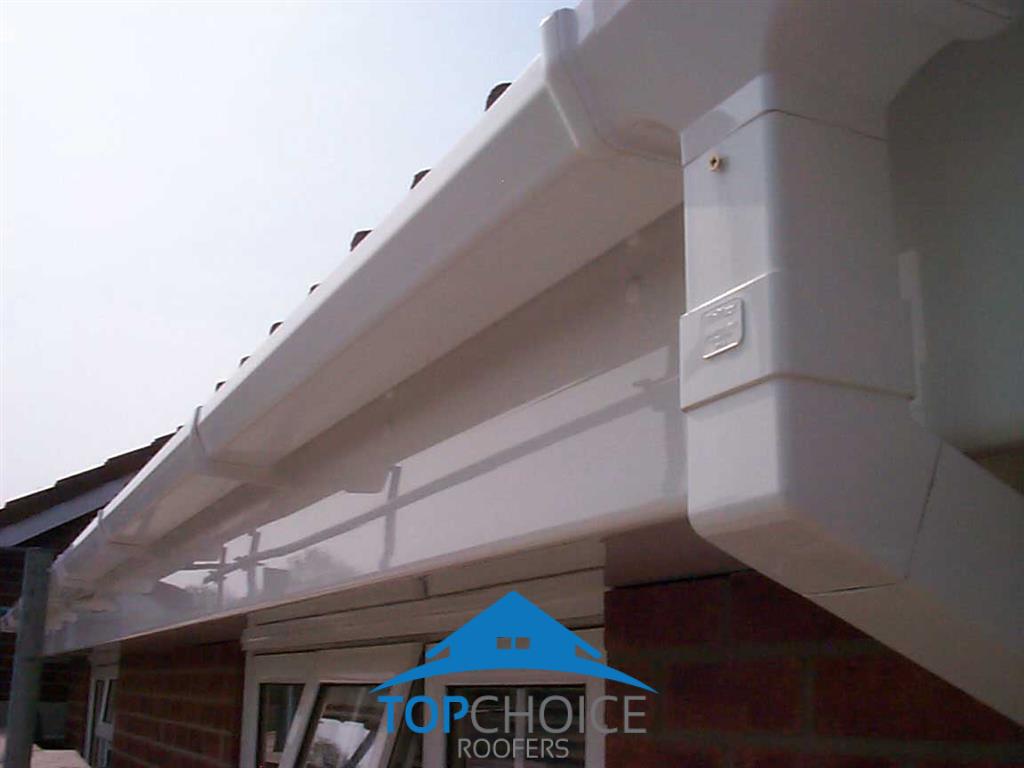 PVC Rain Gutters Artane