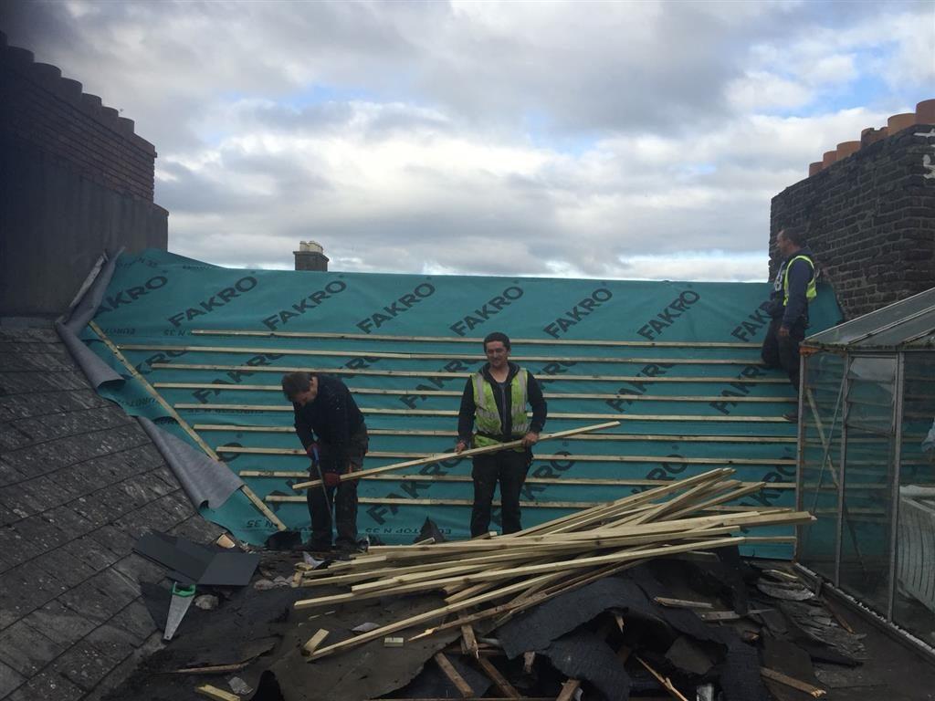 Roofing Repairs Ringsend