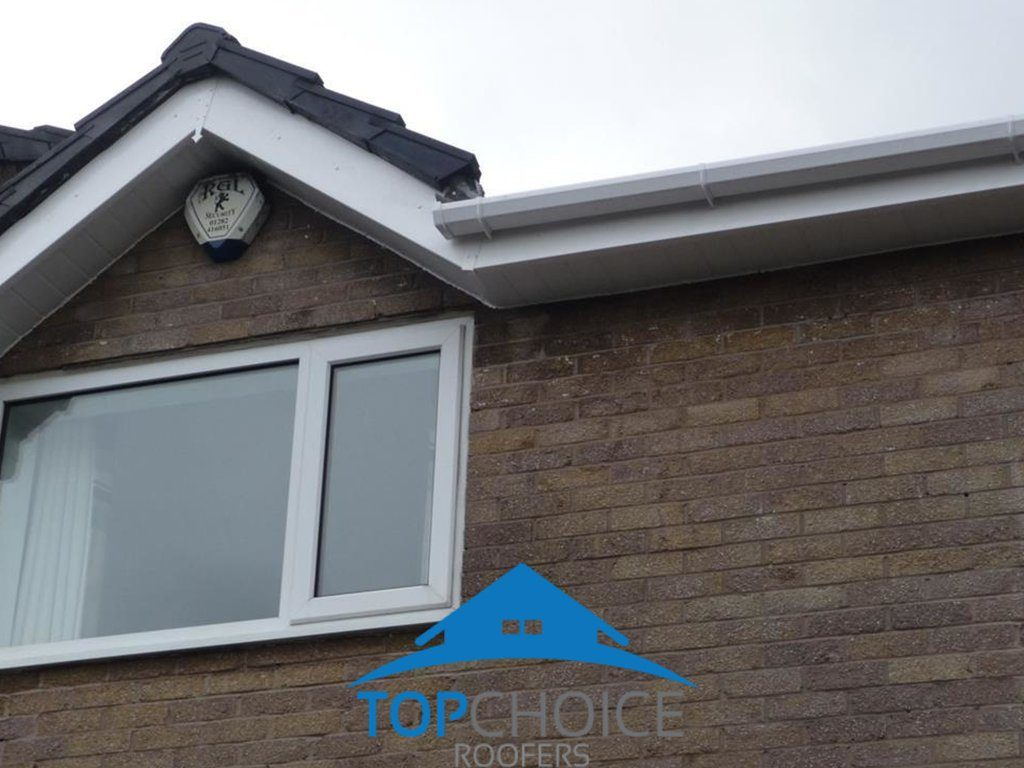 New Soffit and Fascia