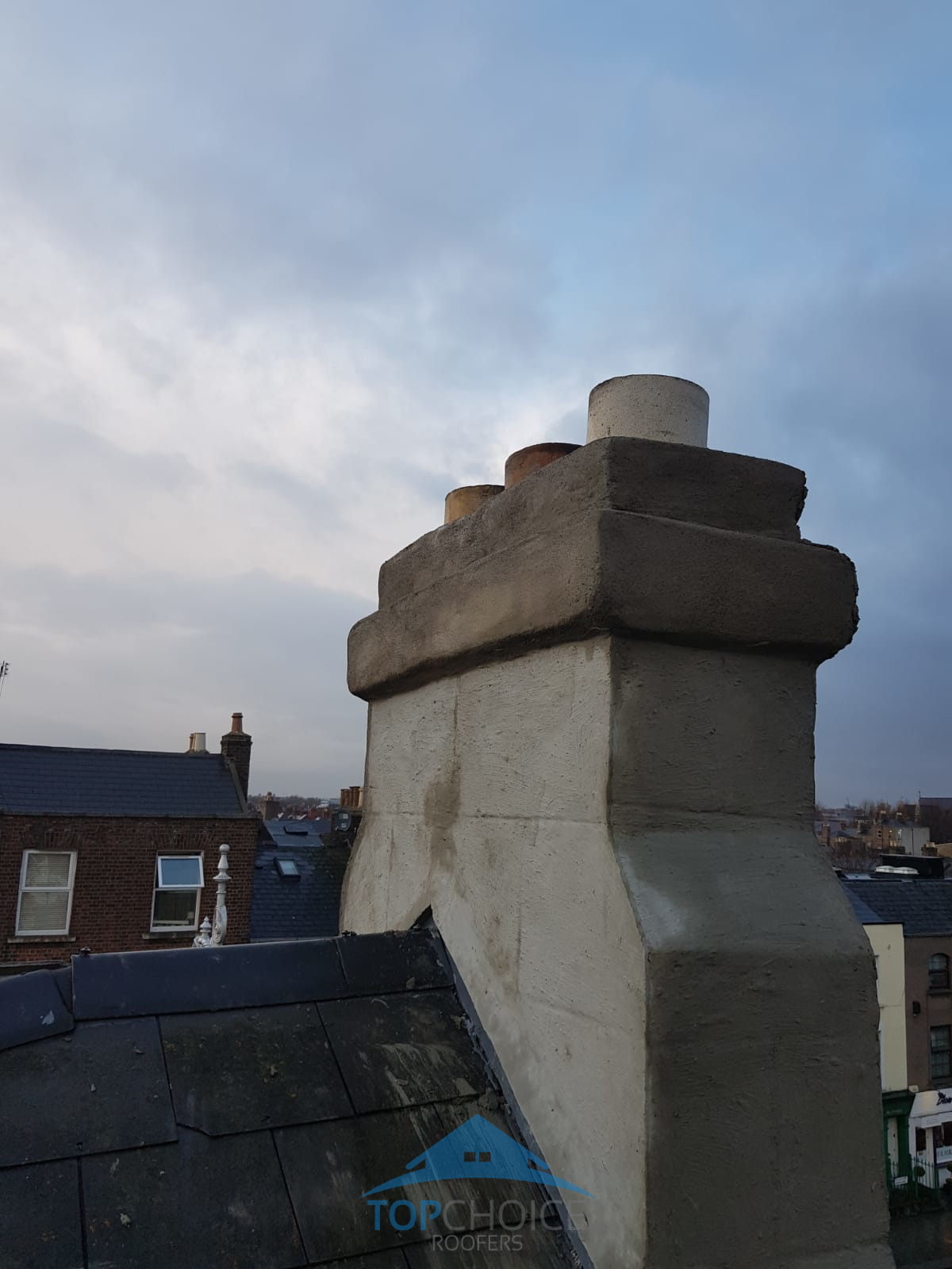 Chimney repair in Dublin