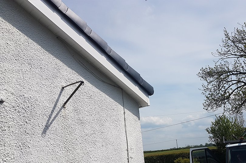 Dry Verge Roof After Wicklow