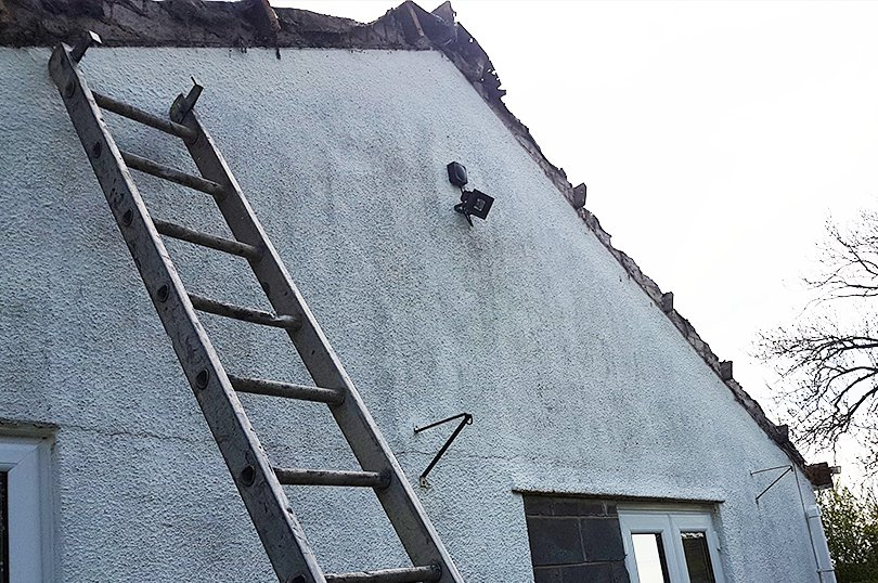 Dry Verge Roofing Before Dublin