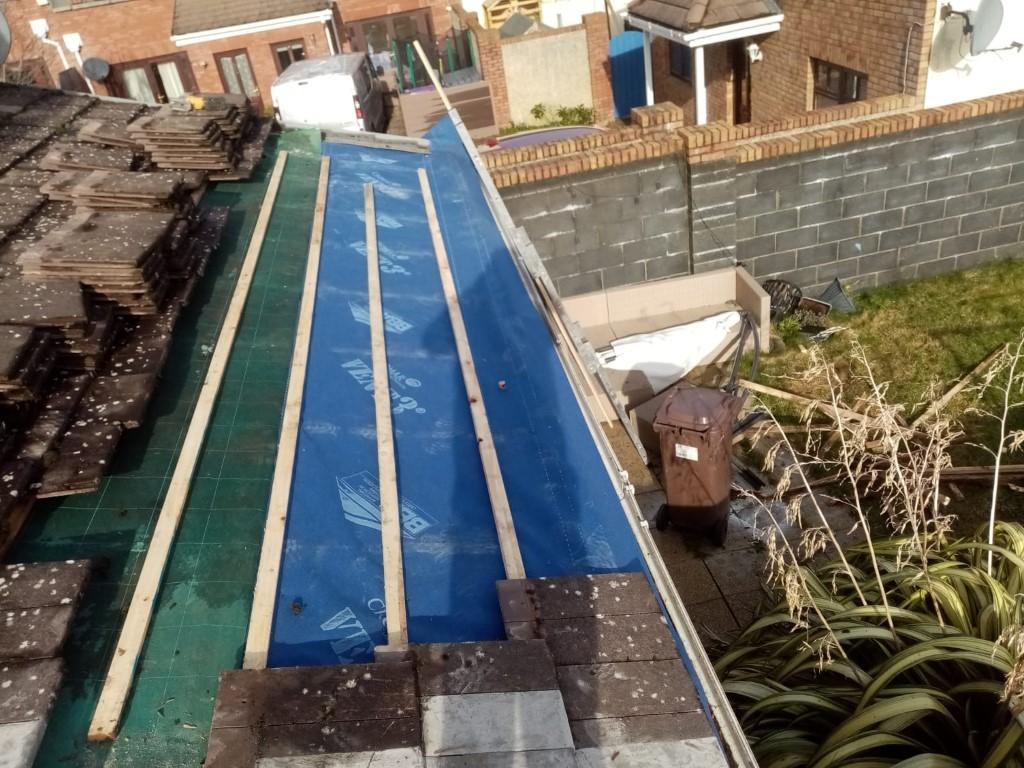 Roofing Repair Completed in Greystones, WIcklow
