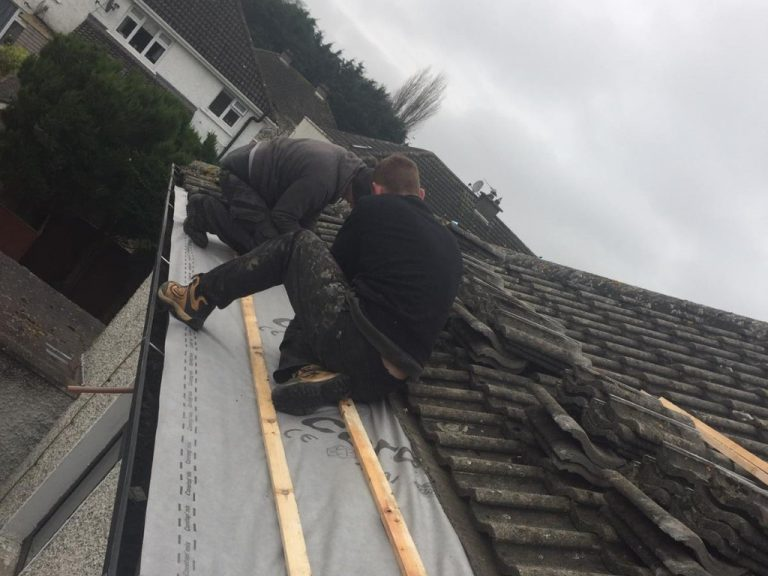 repairing leak in roof Dublin